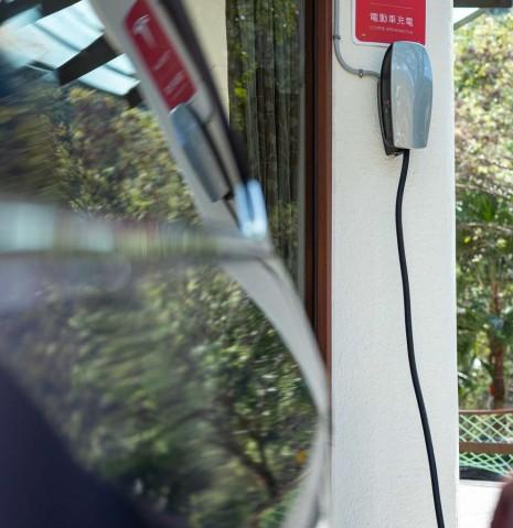 特斯拉充電站